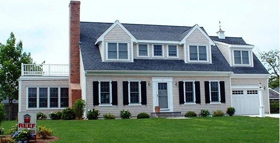Before and after home transformation examples outside for Cape cod renovation floor plans