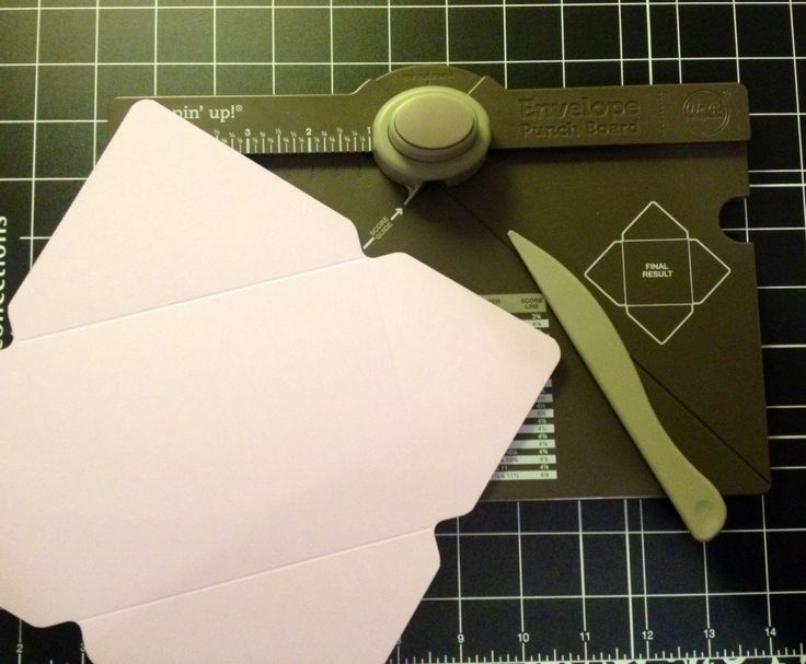 Love my envelope punch board from Stampin' Up!
