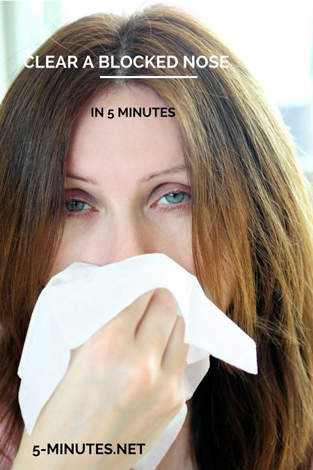 how to clean nose at home