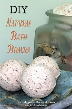 These DIY natural bath bombs are moisturizing, luxurious, and toxin-free!