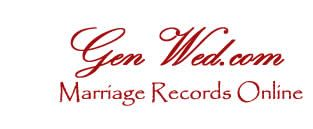 Genealogy Marriage Records at GenWed, databases and directory.