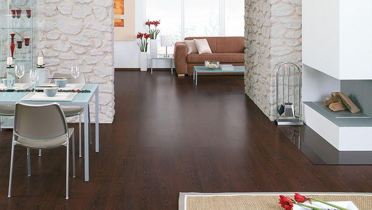 HARO Pavimento in laminato Plancia Wengué poro (Imitazione legno)