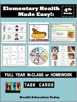 This program can be completely done as homework, or you can teach it in class - it's your choice!!-----------------------------------------------------------------------------------Skip the canned curriculum designed by companies instead of teachers!You won't find crossword puzzles and word searches in these interactive, fun lessons!-----------------------------------------------------------------------------------Created by a 19-year veteran Health…