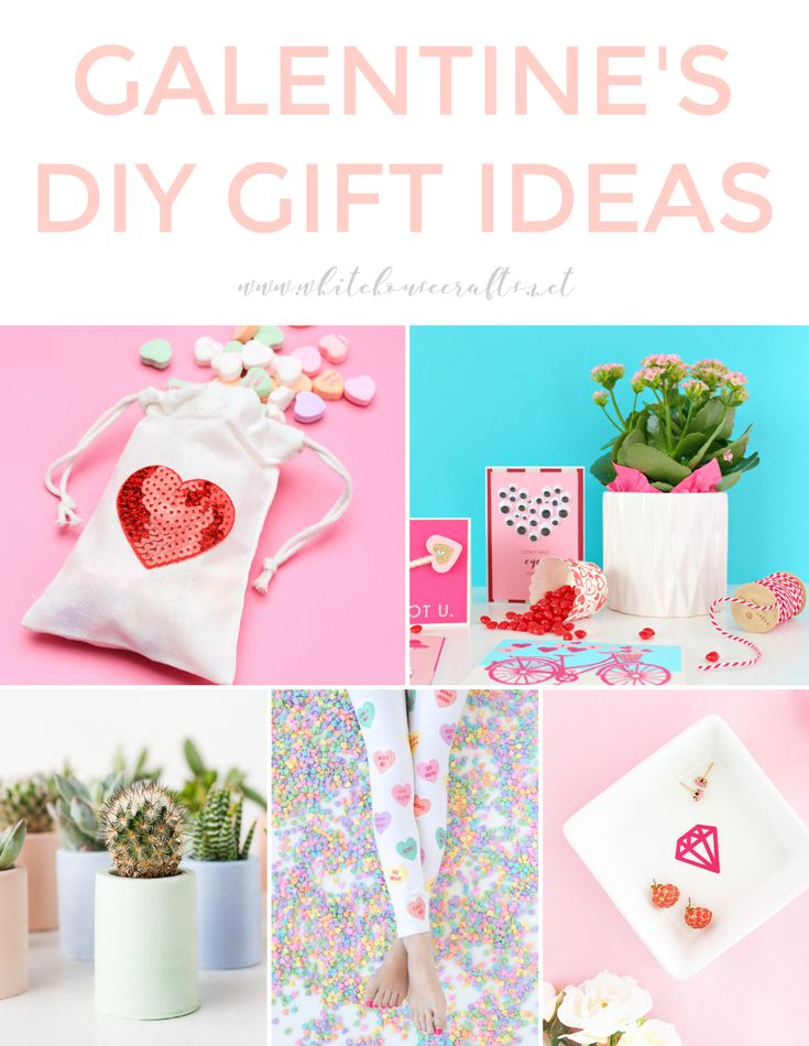 GALENTINE'S DAY DIY GIFT IDEAS