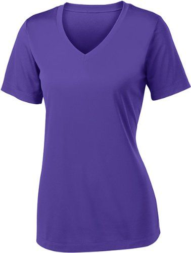 Sport-Tek Women's V Neck PosiCharge Competitor Tee -- Want to know more, click on the image.