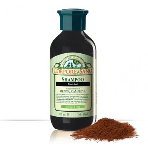 Sampon cu henna pt par brunet. Sampon cu henna pentru par brunet, atat vopsit cat si natural. Revitalizeaza firul de par si prelungeste culoarea, intensifica culoarea si da stralucire si un aspect sanatos parului.
