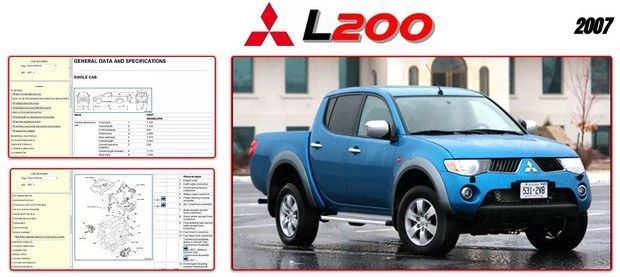Mitsubishi L200 2007 Repair Manual Repair Manuals Mitsubishi Repair