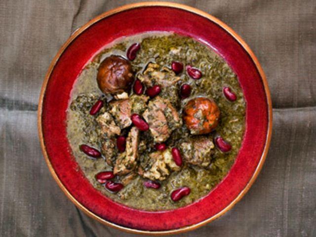 Khoresht e Ghormeh Sabzi - persisk lammgryta (kock Jens Linder)