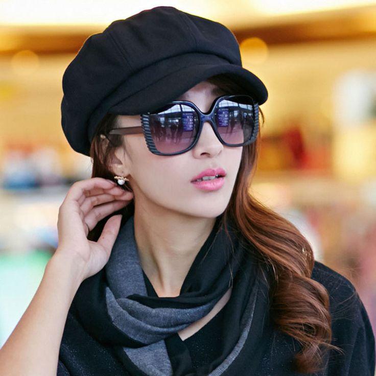 2016 Hot Sale High Quality Wool Women Beret Hat Cap Girls Beret Autumn and Winter British Style French Tweed Boina Feminina