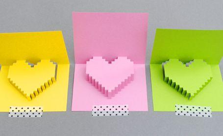 carte 3D coeur