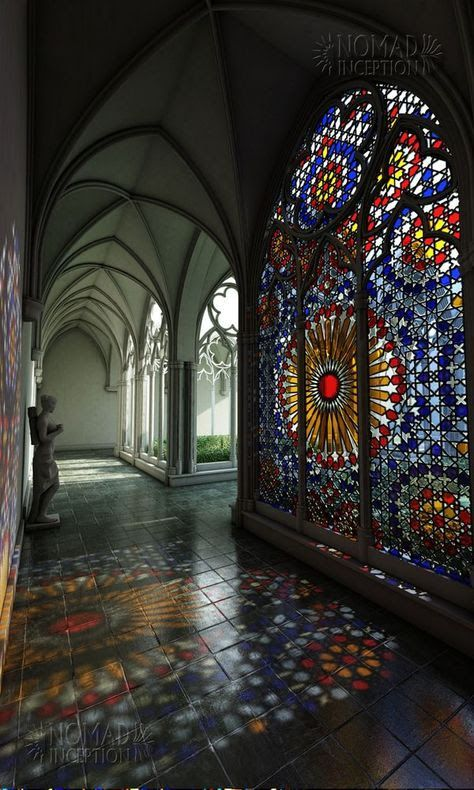 Pin by Nina Kromhout on architectuur   Pinterest   Stained Glass, Architecture and Design