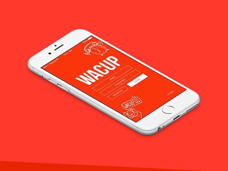 App for a new coffee brand by Mark & Marten