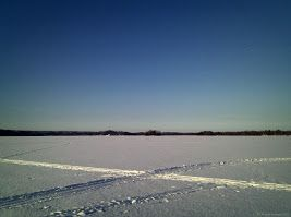 Lake Bodom. Oittaa, Espoo, Finland 24.2.2013 CC BY Tiina M Niskanen