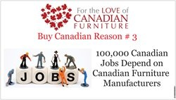 Share the LOVE of Canadian Furniture Smitty's Fine Furniture