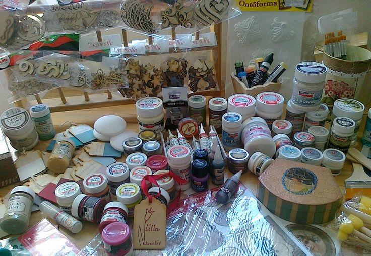 Obchodík na materiál pre kreatívne tvorenie :)