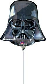 """14"""" Darth Vader Helmet -Non-Pkg foil balloon"""