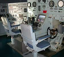 USS Nautilus (SSN-571) Modern Submarine Helm