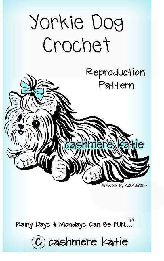 YORKIE DOG - Crochet pattern