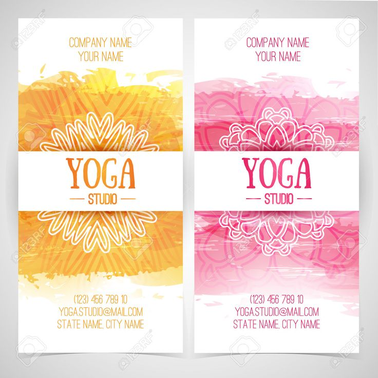 15 best fit images on pinterest yoga flyer yoga logo and yoga posters set design template brochures cards invitations flyers for fandeluxe Choice Image