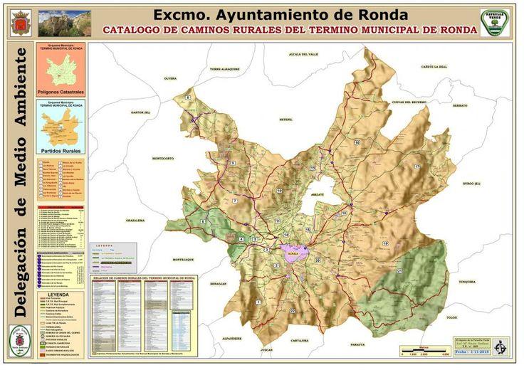 CATALOGO DE CAMINOS RURALES DE RONDA