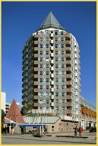 Piet Blom, 1934-1999, De Potlood, Rotterdam