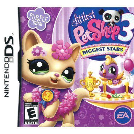 Littlest Pet Shop 3 Biggest Stars Purple Team - Nintendo DS