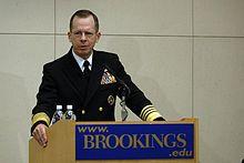 Brookings Institution - Adm. Michael Mullen speaks at the Brookings Institution