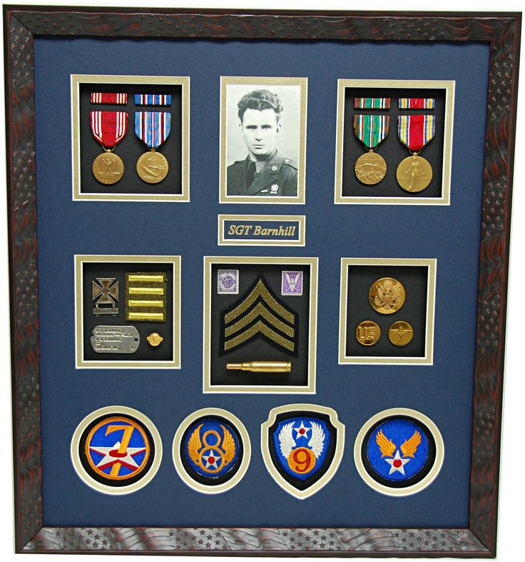Best 25+ Military Shadow Box Ideas On Pinterest