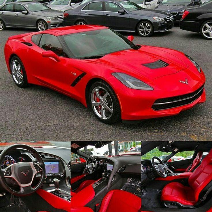 2014 Corvette Stingray Stock# M-E5104618 For more info call: Perry at (470)819-6744 perry-platinumluxuryautos.com