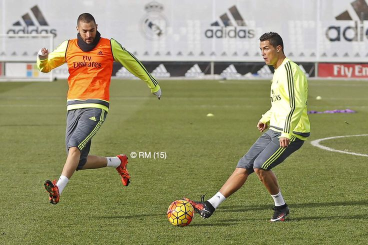 #cr7 training time..