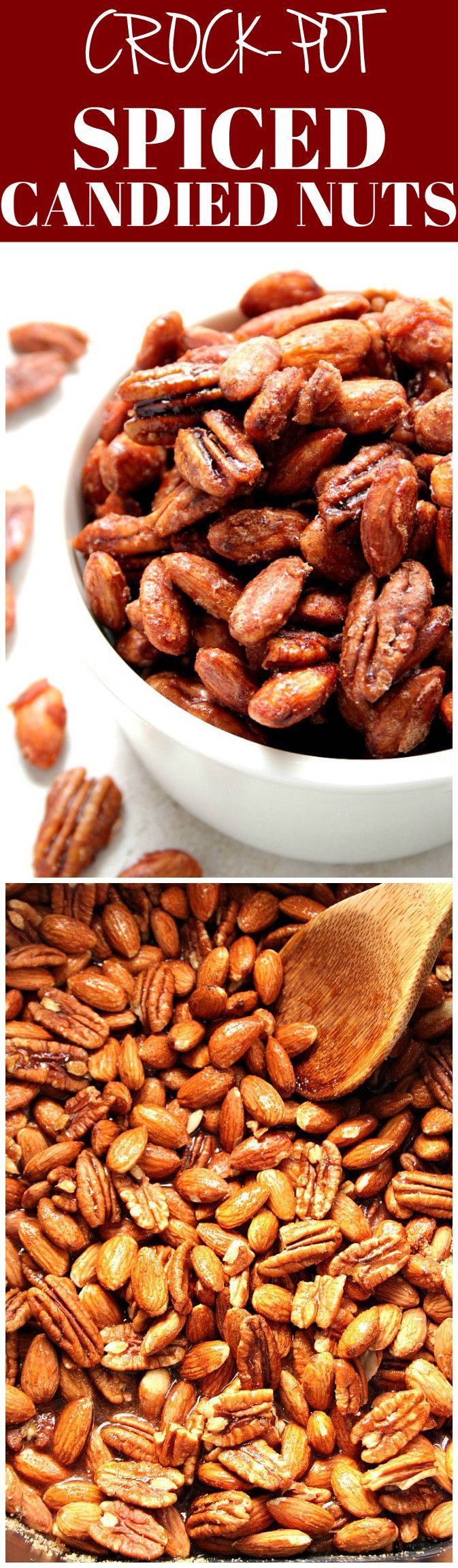 Crock-Pot® Candied Spiced Nuts   Recipe