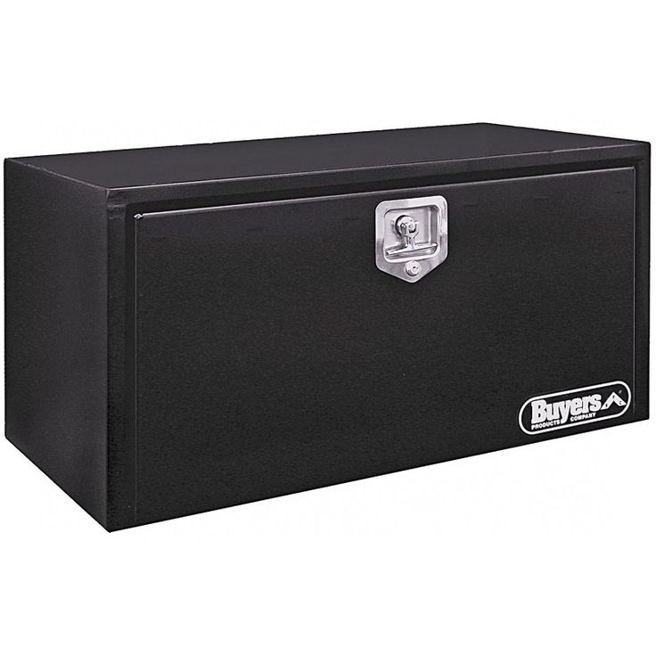 Buyers Steel Underbody Tool Box Black - 1702300