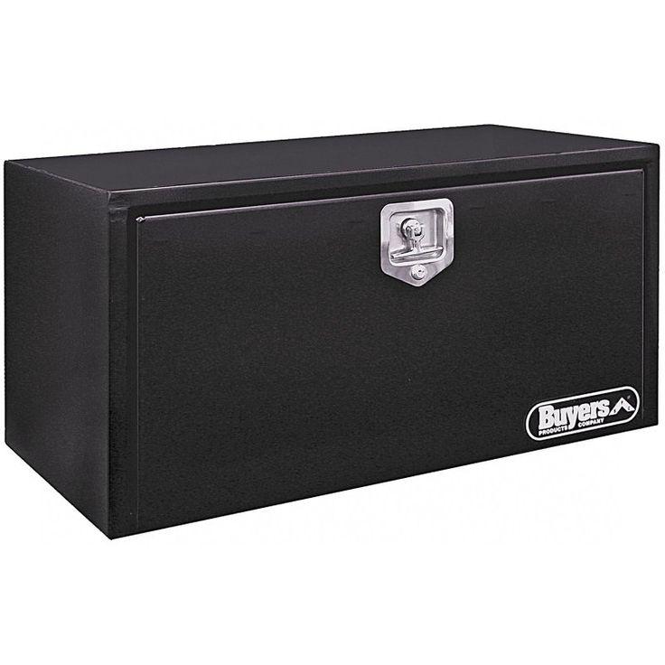 Buyers Steel Underbody Tool Box Black - 1702300