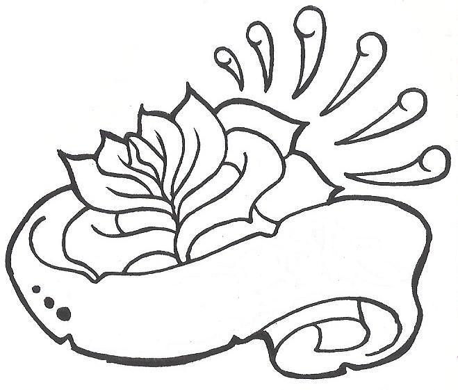printable rose stencils rose tattoo design banner tattoo design free tattoo designs peter 39 s. Black Bedroom Furniture Sets. Home Design Ideas