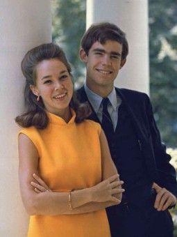 Julie Nixon-Eisenhower with David Eisenhower