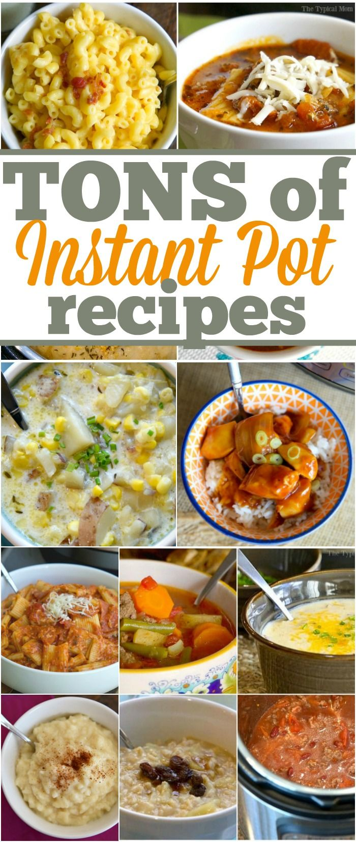 Instant Pot recipes that are easy and delicious! From soups, to main dishes, and even how to make dessert in this pressure cooker.