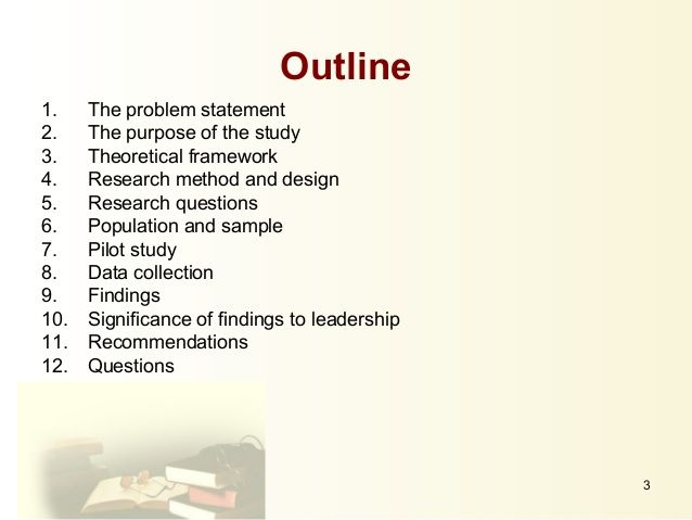 Phd thesis proposal presentation ppt