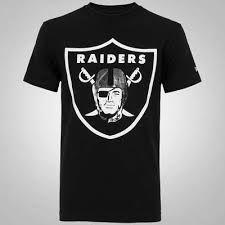 Resultado de imagem para Camiseta New Era NFL Oakland Raiders - Preto