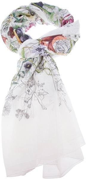 Gucci Floral Print Scarf - Lyst