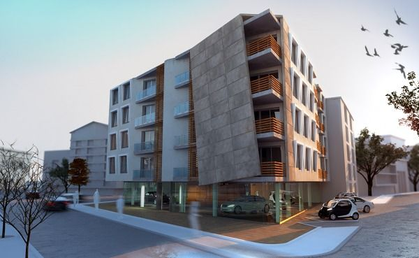 17 best images about apartment buildings on pinterest for Small apartment complex plans