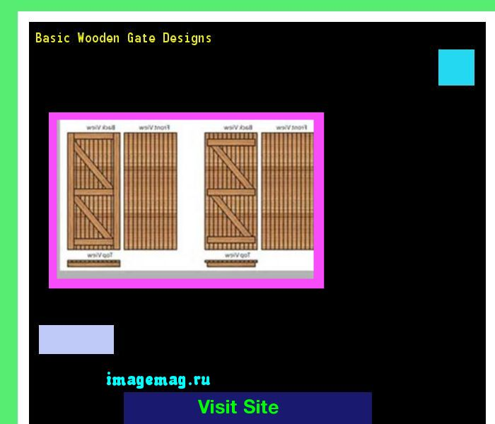 Basic Wooden Gate Designs 161407 - The Best Image Search