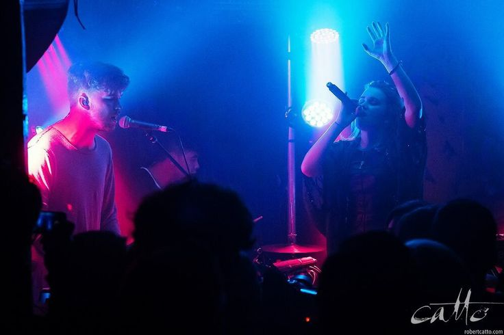 NZ Band Broods touring with Ellie Goulding, shot with an #XPro1 by Robert Catto