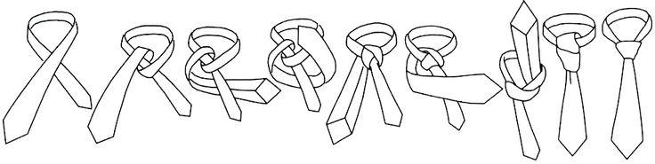 Windsor Как завязывать галстук