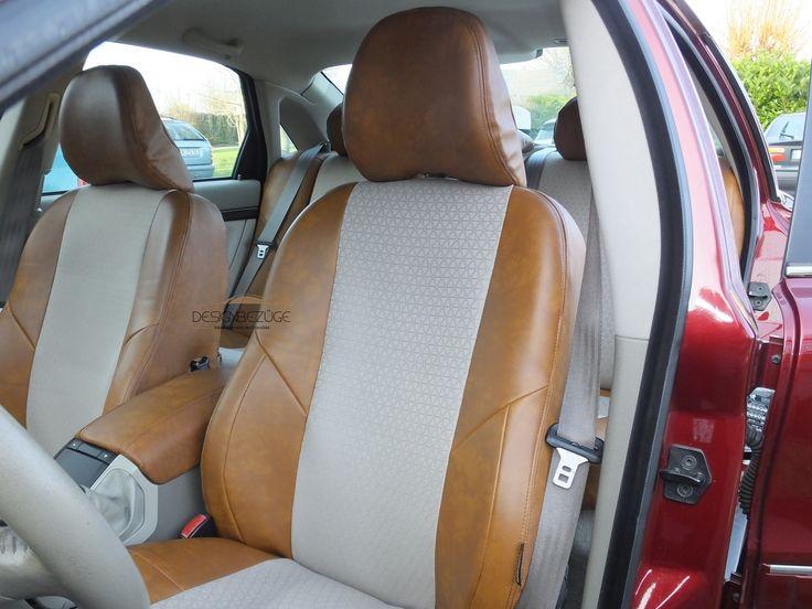 VOLVO S80 Autositzbezüge nach Maß nachr der Montage in der Lederlook & Textil MIX Variante. Die helle Innenausstattung soll für die nächsten Jahre gepflegt werden und vor Abnutzung geschützt werden. www.designbezuege.de #designbezuege #designbezuege nach maß #VOLVO, #Sitzbezüge, #TUNING