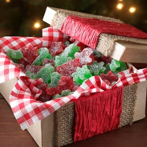 Homemade Gumdrops Recipe from Taste of Home -- shared by Christin Holt of Kingsburg, California: Christmas Food, Taste Of Home, Christmas Recipes, Food Gift, Gumdrops Recipe, Christmas Candy, Christmas Treats, Homemade Gumdrops