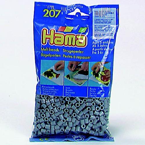 Hama 207-17 Strijkkralen 1000 GRIJS