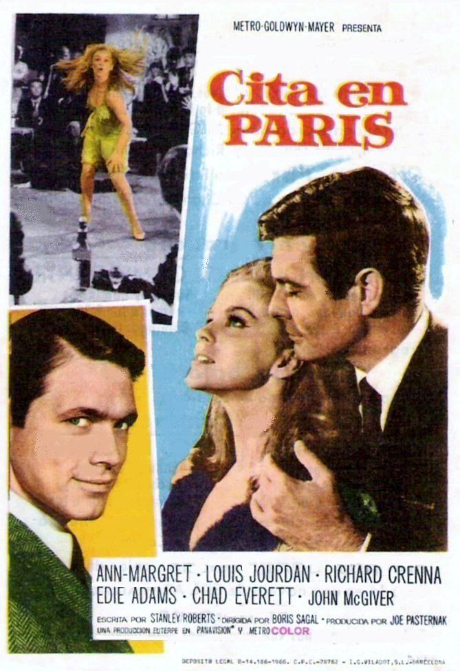 "Cita en París (1966) ""Made in Paris"" de Boris Sagal - tt0060646"