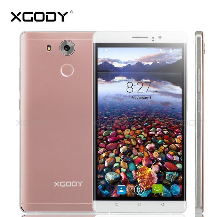 XGODY Smartphone 6 Inch RAM 512MB ROM 4GB Quad Core Android 5.1 2SIM T-Mobile With Protective Case Y10 Cheap Cell Phones