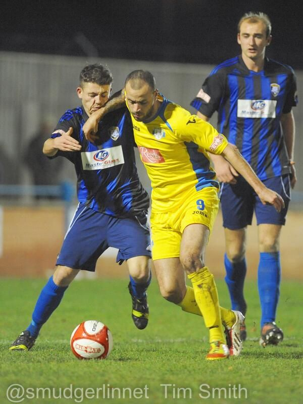Massiah for King's Lynn Town FC v Worksop Town 10 /12 /13