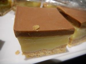 My Aunty Triss's carmel slice - so delish I would almost want to keep it all to myself! - Mamma Raj Says
